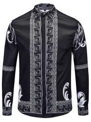 Men Autumn Winter Long 3D Shirt -