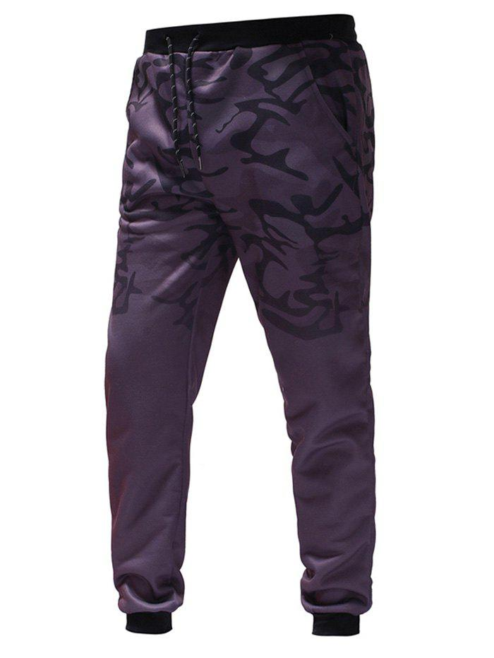 Latest Men's Gradient Camouflage Casual Sports Trousers