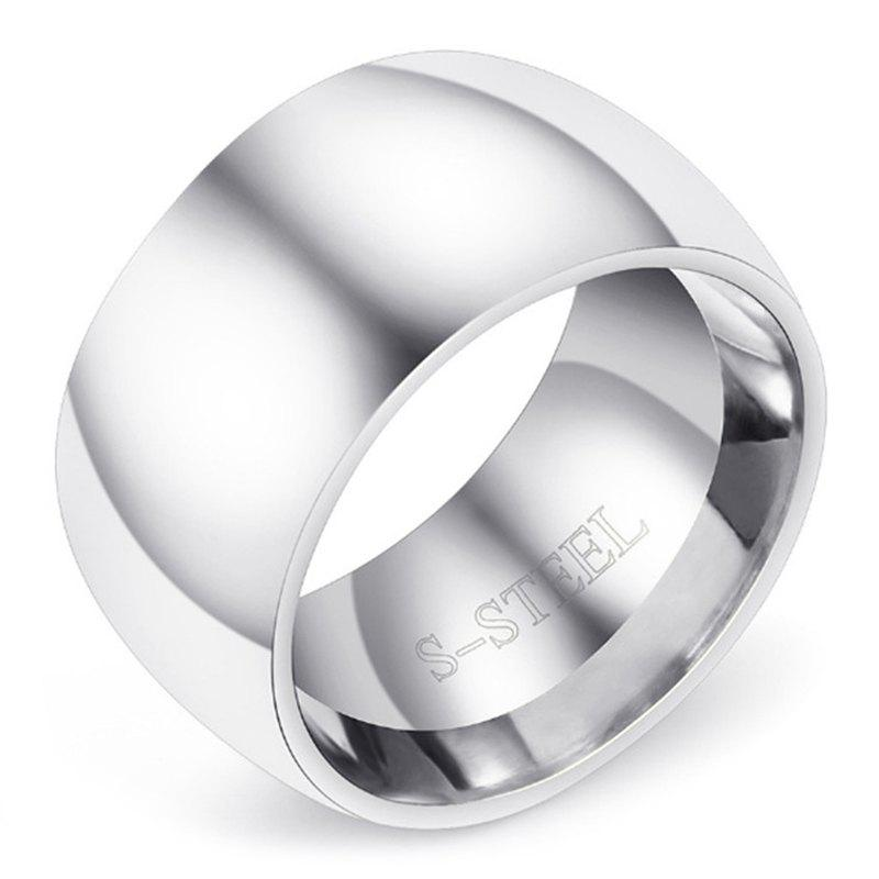 Outfits Oversized Men's Stainless Steel Ring