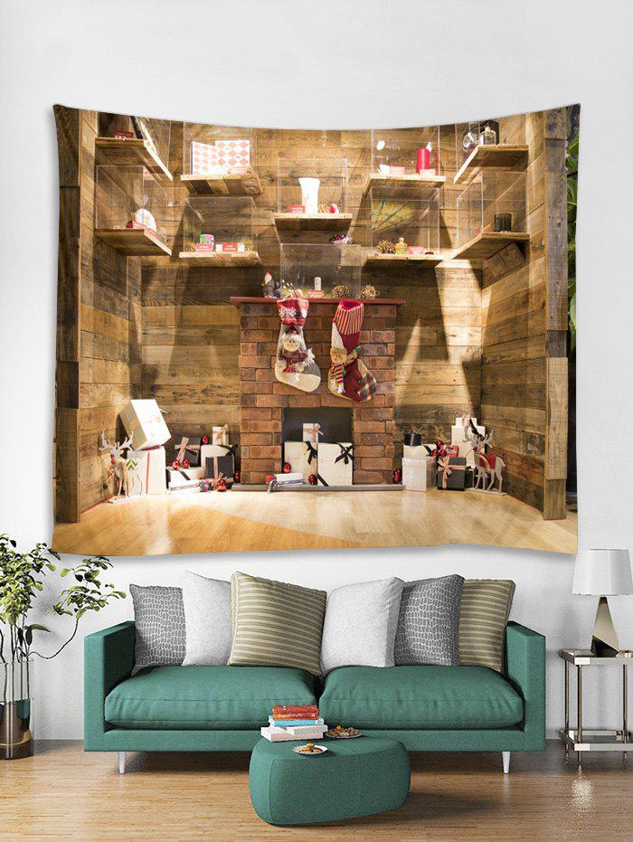 Outfit 3D Christmas Gift Wooden Cabinet Tapestry Art Decoration