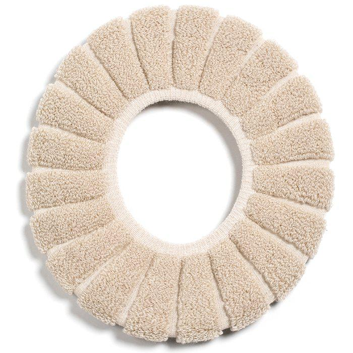 Buy Pumpkin Pattern O-shaped Toilet Seat Thickening Plush Cover Winter Warm Universal