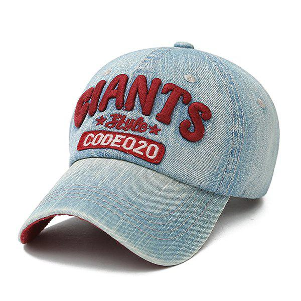 Outfit Distressed Wash Baseball Cap Men's and Women's Cotton Cowboy Hat