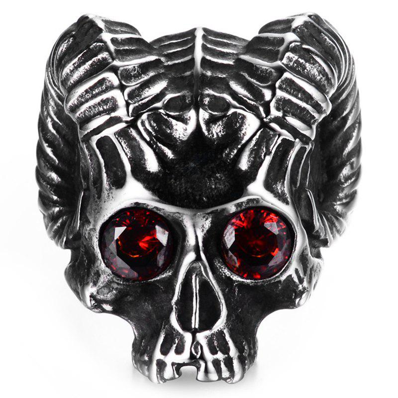 Latest Men Stainless Steel Skull Ring