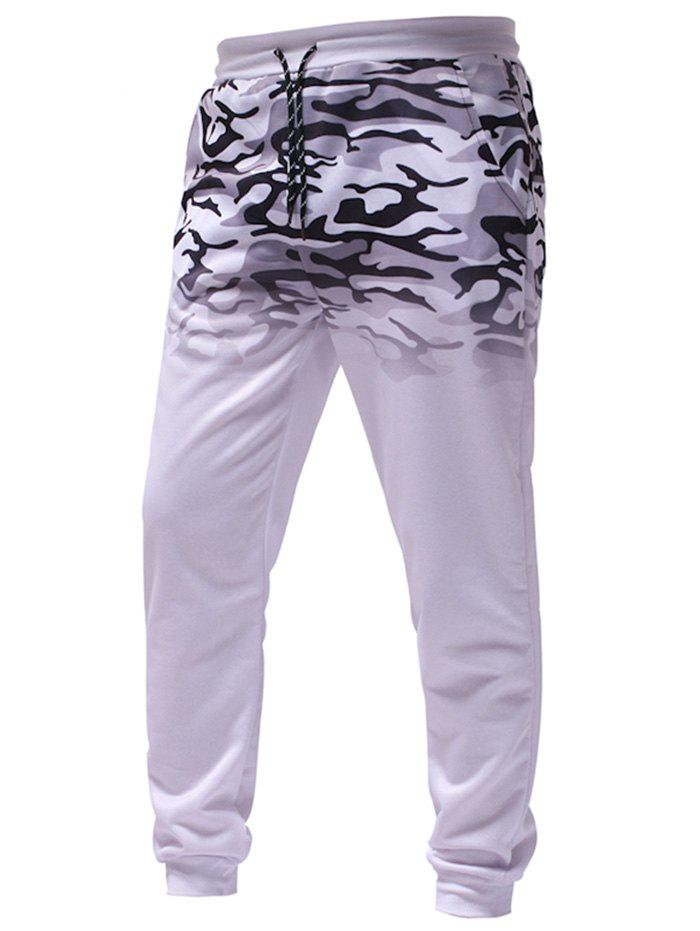 Best Men's Gradient Camouflage Casual Sports Trousers