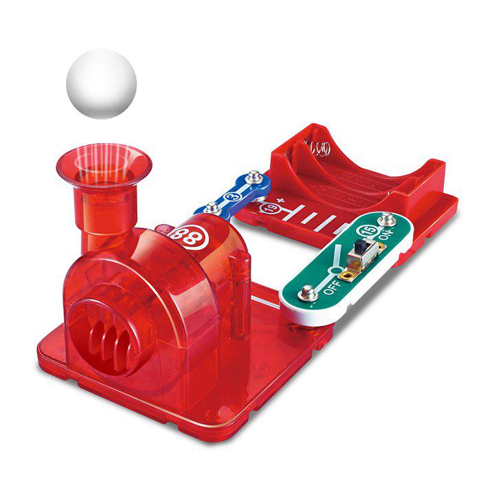 Best Electronic Building Blocks Bubble Machine Vacuum Cleaner Suspension Ball Physical Circuit Toy