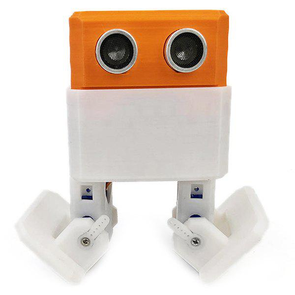 Latest Creative Arduino Nano Obstacle Avoidance Robot DIY Humanity Playmate 3D Toys
