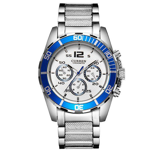 Hot Quartz Movement Business Men's Watch