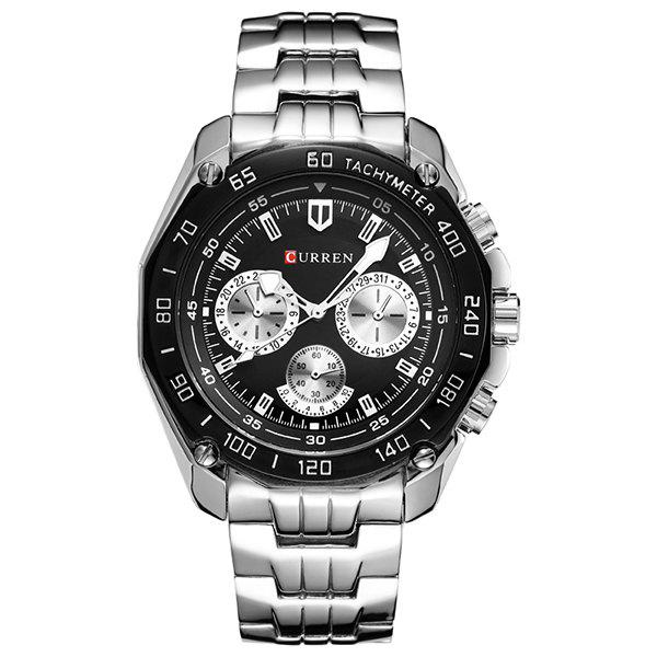 Outfits Fashion Trend Three Eyes Men's Steel Watch