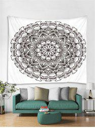Mandala Floral Pattern Tapestry Art Decoration -