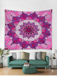 Bohemian Mandala Floral Pattern Tapestry Art Decoration -