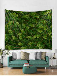 Christmas Tree Branch Print Tapestry Wall Hanging Decoration -
