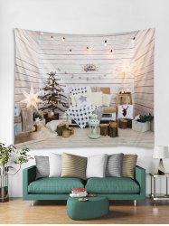 Christmas Decoration Print Tapestry Wall Hanging Art -