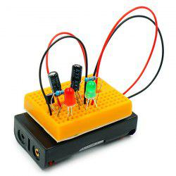 Red Green Strobe Warning Alternate Light Scientific Experimental Toy -