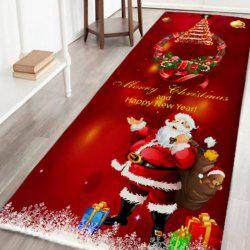 Christmas Non-slip Absorbent Digital Printed Mat -