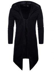 Long-sleeved Windbreaker Hooded Coat -