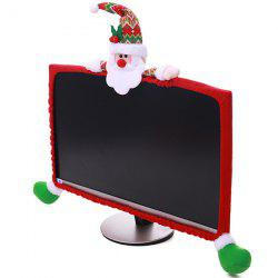 Christmas Display Border Elastic Computer Display Cover 19 inch - 27 inch -