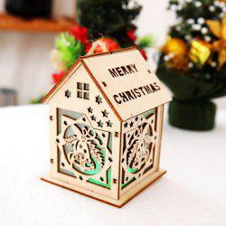 Christmas Decoration Lights Color Cabin Christmas Tree Decoration Supplies Large -