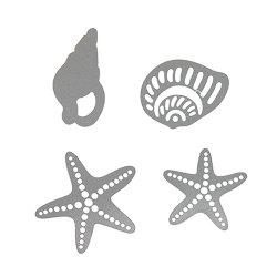 3 - LBE3524 Conch Starfish Cutting Dies -