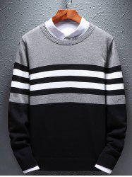 Men's Round Neck Long Sleeve Sweather -