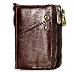 TANGGUH Men Classic Wallet Leisure Anti-theft Zipper -