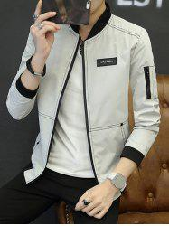 Casual Wild Slim Thin Baseball Uniform Clothes Jacket -