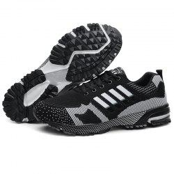 Men Breathable Thin Shock Absorption Sports Running Shoes -