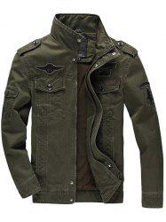 Men's Casual Flying Outdoor Sports Tooling Jacket -