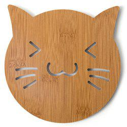 Wooden Cute Creative Hollow Wooden Coasters -