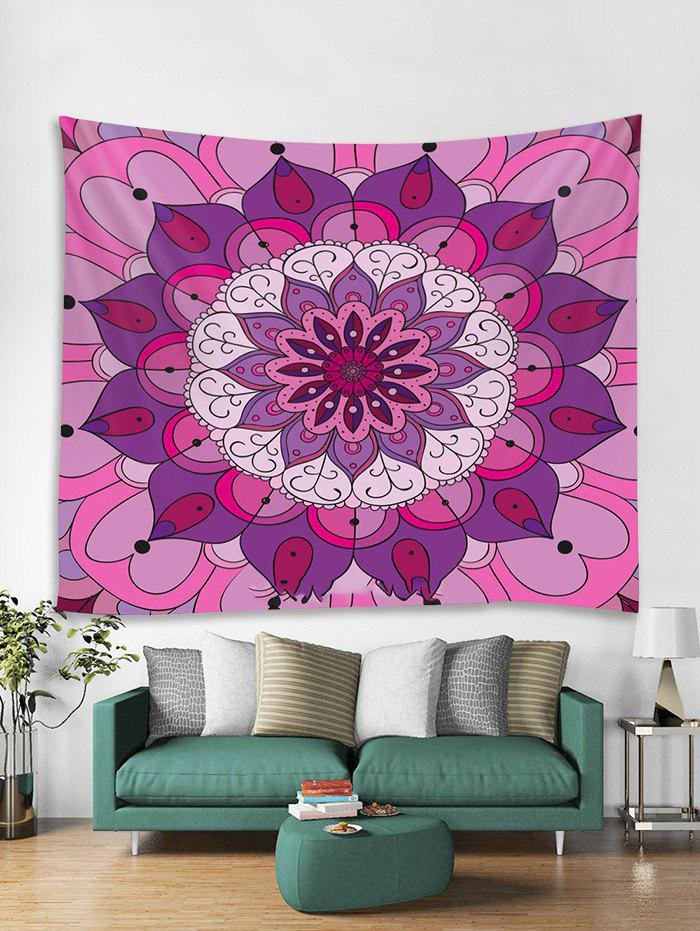 Chic Bohemian Mandala Floral Pattern Tapestry Art Decoration