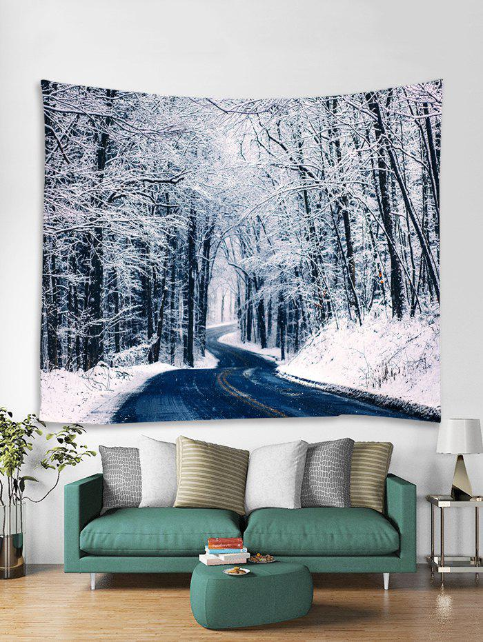 Affordable Christmas Snow Tree Pattern Tapestry Art Decoration