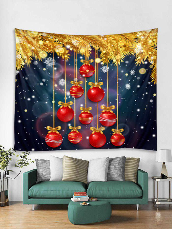 Outfits Christmas Hanging Balls Print Tapestry Wall Hanging Decor