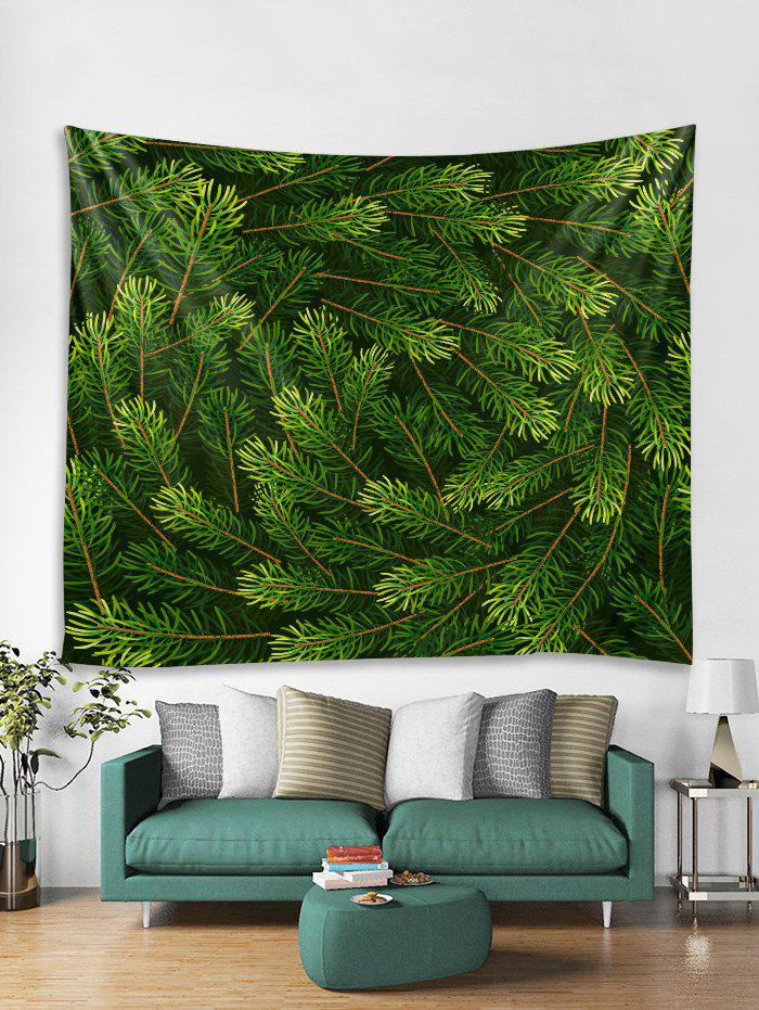 Fashion Christmas Tree Branch Print Tapestry Wall Hanging Decoration
