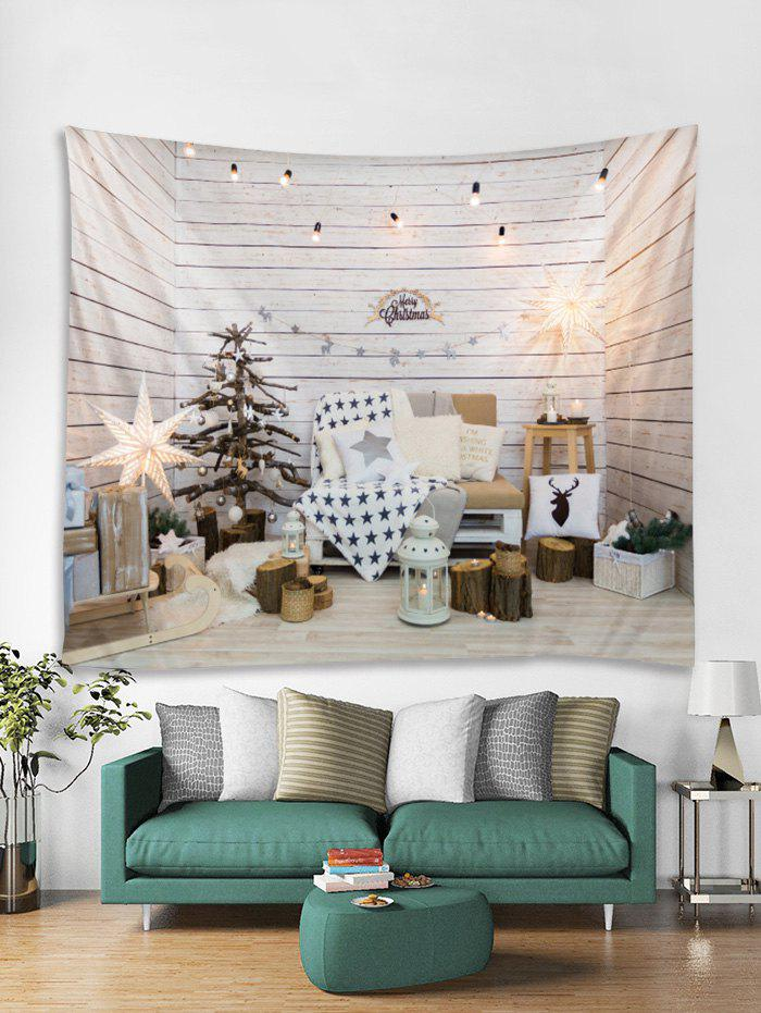 Store Christmas Decoration Print Tapestry Wall Hanging Art