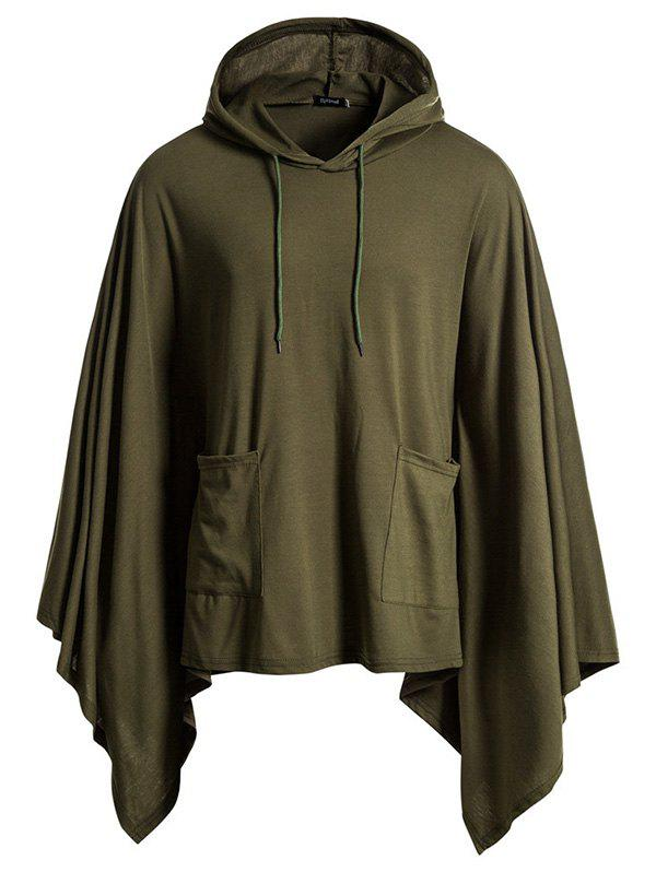 Affordable Festive Jacket Hooded Turtleneck Solid Color Hoodie