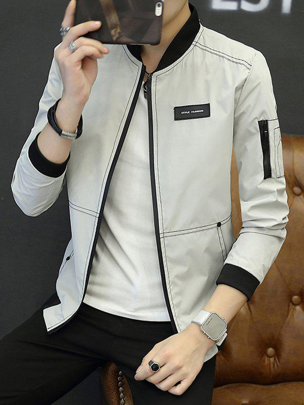 Best Casual Wild Slim Thin Baseball Uniform Clothes Jacket