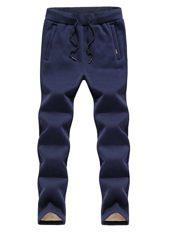 Outfits Black Winter Casual Men's Straight Trend Pants