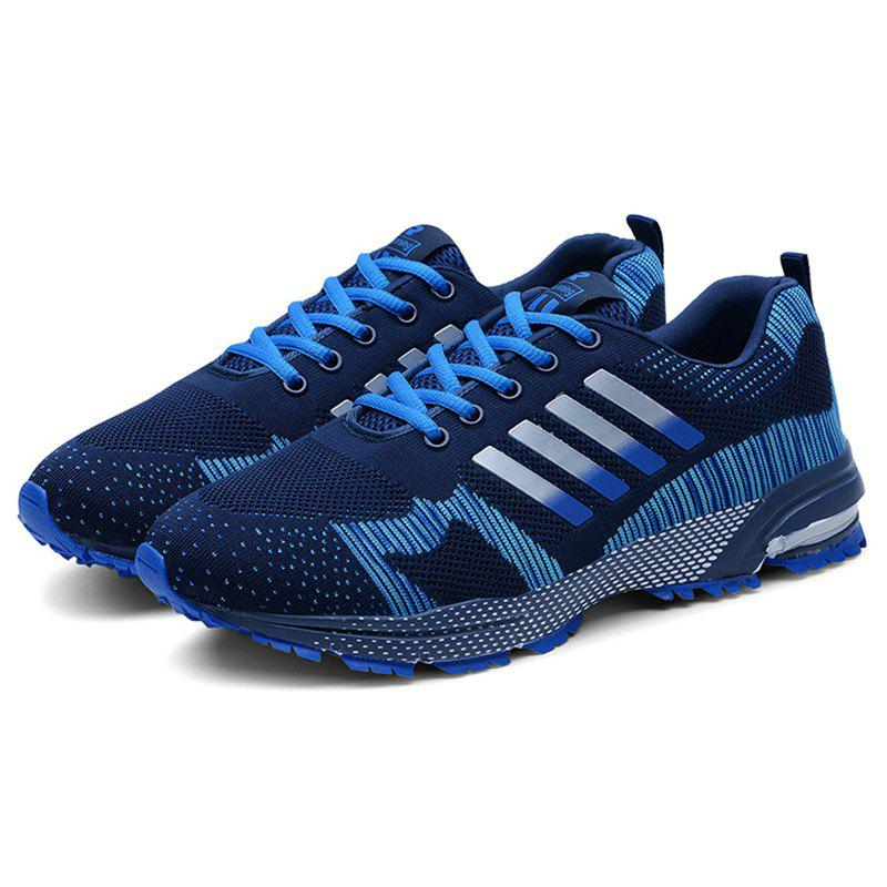 Fancy Men Breathable Thin Shock Absorption Sports Running Shoes