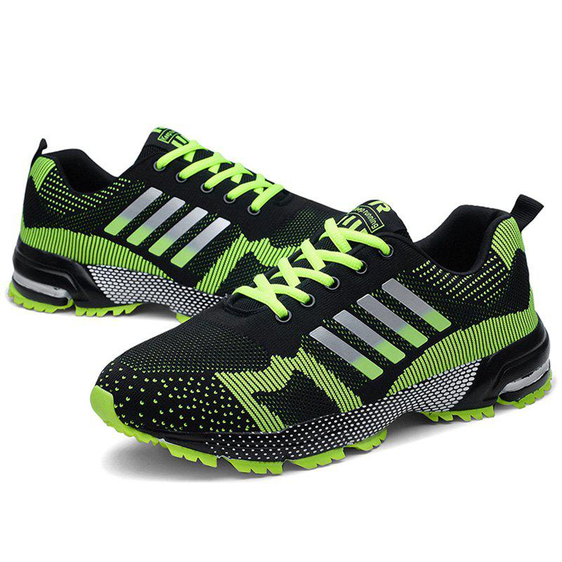 Trendy Men Breathable Thin Shock Absorption Sports Running Shoes