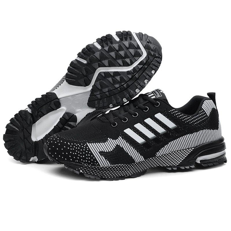 Unique Men Breathable Thin Shock Absorption Sports Running Shoes