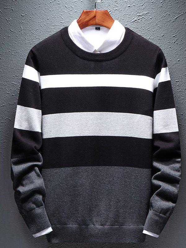 Affordable Round Neck Men's Simple Versatile Self-cultivation Sweather