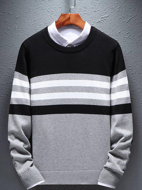 Shop Men's Round Neck Long Sleeve Sweather
