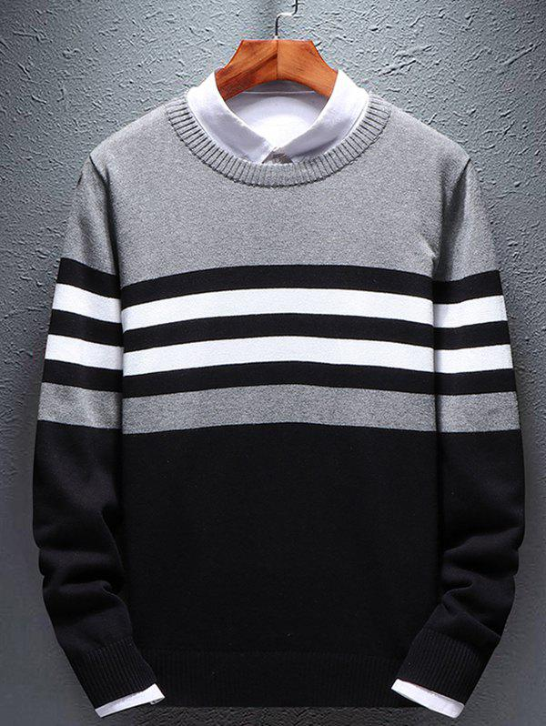 Affordable Men's Round Neck Long Sleeve Sweather