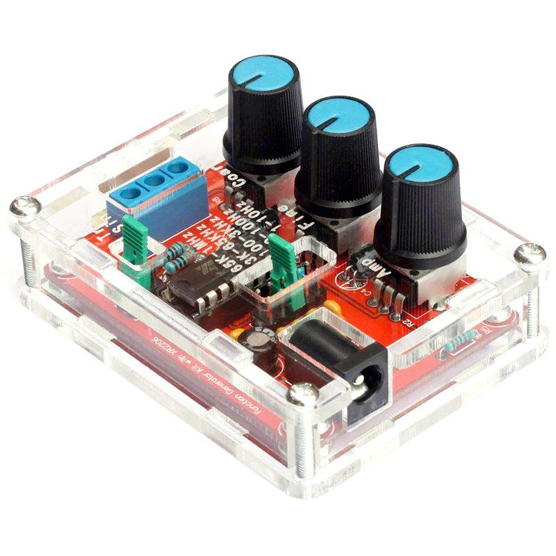 Fashion XR2206 High Precision Function Signal Generator DIY Kit Sine / Triangle / Square Output 1Hz - 1MHz Adjustable Frequency Amplitude