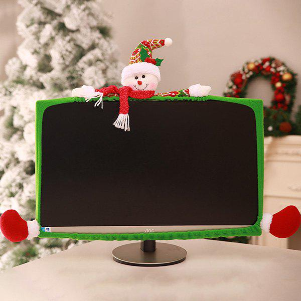 Unique Christmas Display Border Elastic Computer Display Cover 19 inch - 27 inch