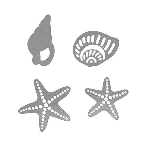 Fancy 3 - LBE3524 Conch Starfish Cutting Dies