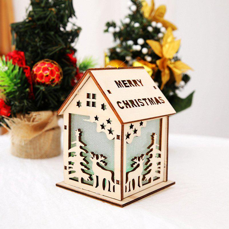 discount christmas decoration with lights color cabin christmas tree decoration supplies large - Cabin Christmas Decor