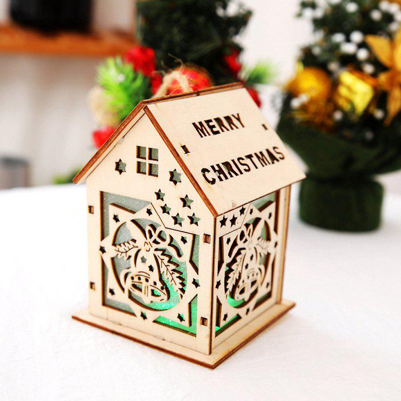 Outfit Christmas Decoration Lights Color Cabin Christmas Tree Decoration Supplies Large