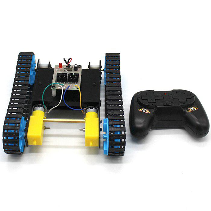 Discount DIY Remote Tank Assembly Model Toy Car Kit