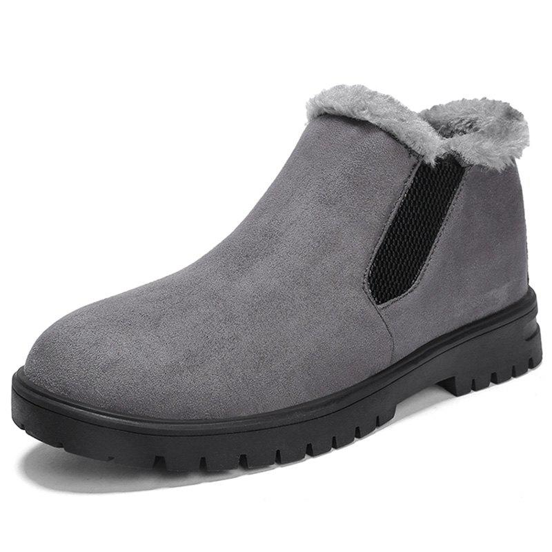 Best Men Warm Snow Boots Comfortable Slip-on Wearable
