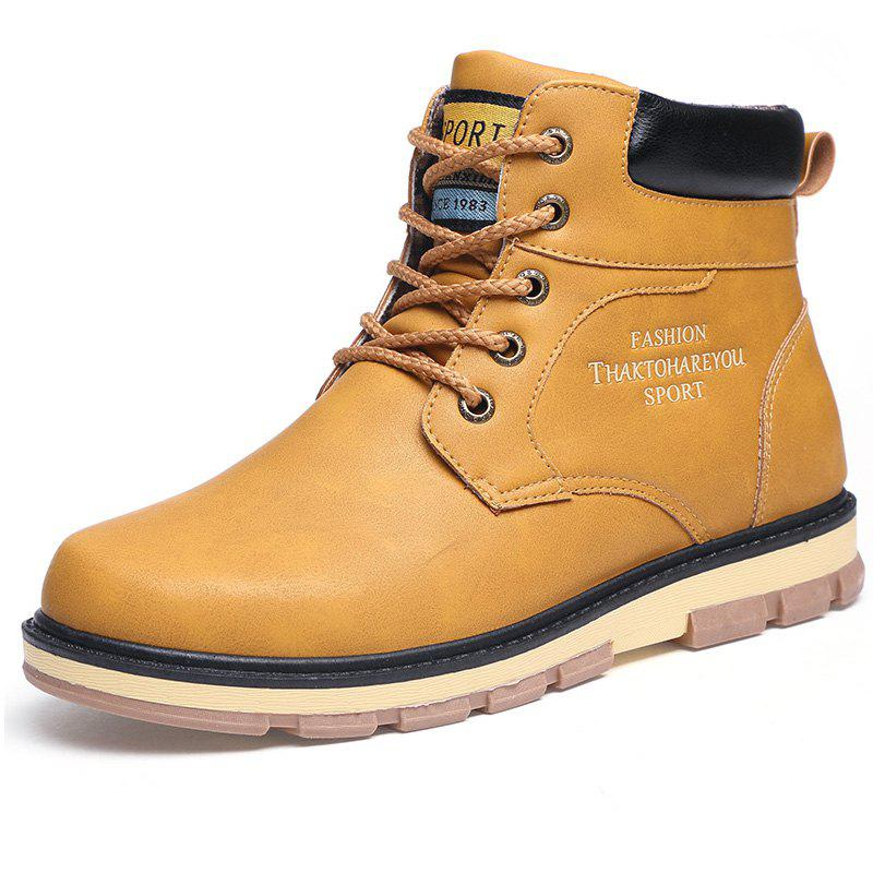 Fancy Fashionable Skid-proof Mid-high Worker Boots
